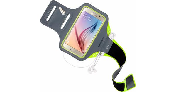Mobiparts Comfort Fit Sportarmband Samsung Galaxy S6 Groen