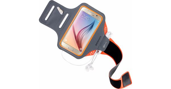Mobiparts Comfort Fit Sportarmband Samsung Galaxy S6 Oranje