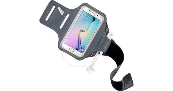 Mobiparts Comfort Fit Sportarmband Samsung Galaxy S6 Edge Zwart