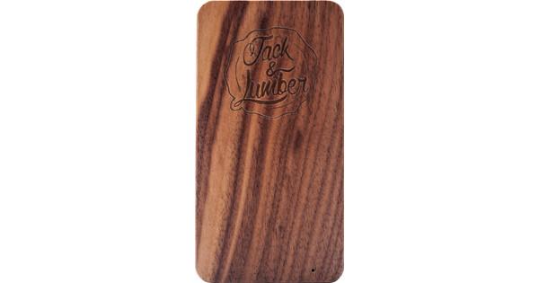 Jack & Lumber Powerbank Walnoot 4000mAh