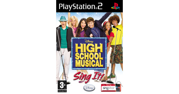 High School Musical: Sing It! PS2