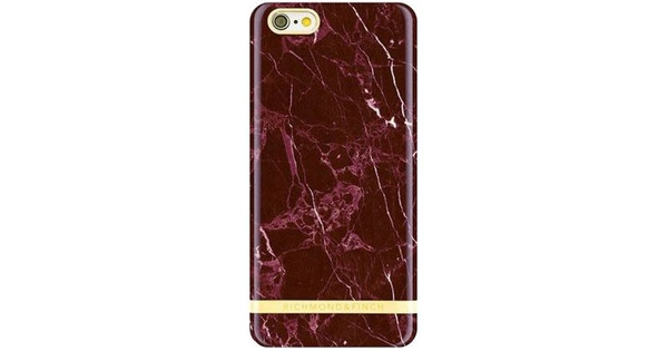 Richmond & Finch Marble Glossy Apple iPhone 7/8 Rood