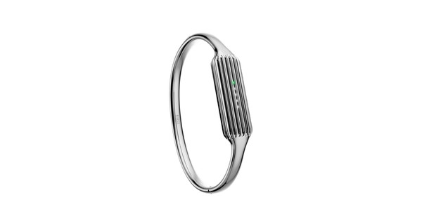 Fitbit Flex 2 Bangle Polsband Silver - S