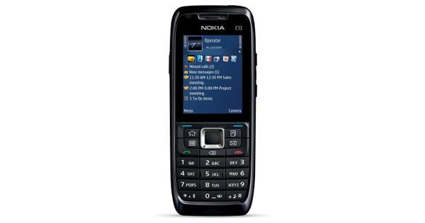 Nokia E51 Black