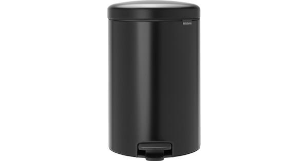Eko Pedaalemmer 20 Liter.Brabantia Newicon Pedaalemmer 20 Liter Mat Zwart Coolblue Voor