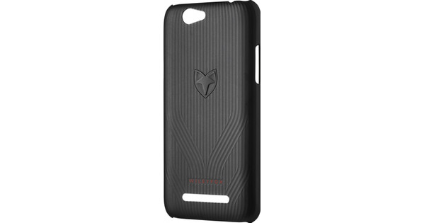 Wileyfox Spark+ Back Cover Zwart