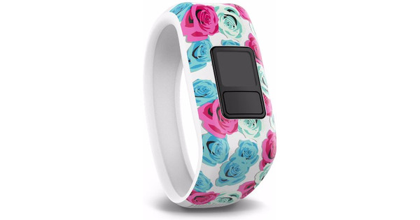 Garmin Vivofit Junior Polsband Real Flower - XL