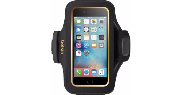 Belkin SlimFit Sport Armband Apple iPhone 6/6s Zwart