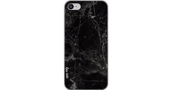 Casetastic Softcover Apple iPhone 7/8 Black Marble