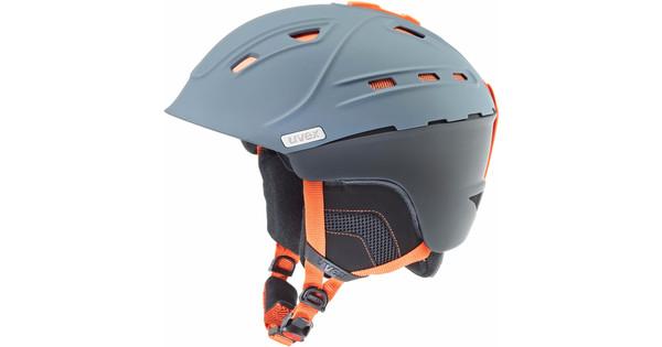 Uvex P2us Grey/Orange Matte (52 - 55 cm)