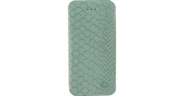 Mobilize Slim Gelly Booklet Apple iPhone 5/5S/SE Soft Snake Groen
