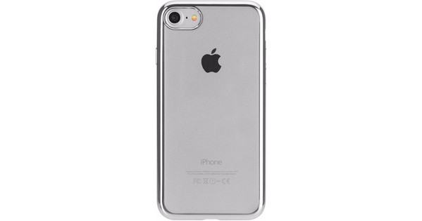 coque iphone 8 argenté