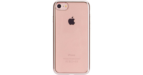 Xqisit Flex Case Chromed Edge Apple iPhone 7/8 Rose Gold