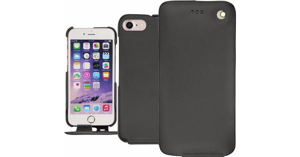 Noreve Tradition Coque en Cuir pour Apple iPhone 7/8 Noir