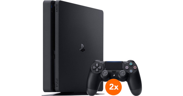 Sony PlayStation 4 Slim 1 To + 2e manette