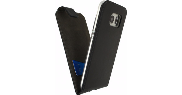 Mobilize Classic Gelly Flip Case Samsung Galaxy S7 Edge Zwart