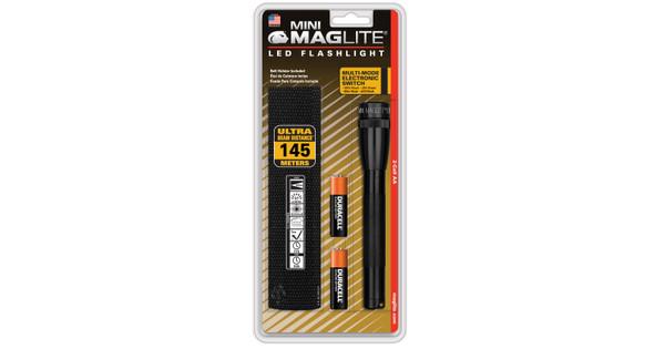Maglite Mini LED AA Zwart incl. Holster