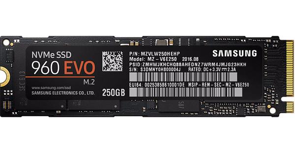 Samsung 960 EVO 250 GB M.2