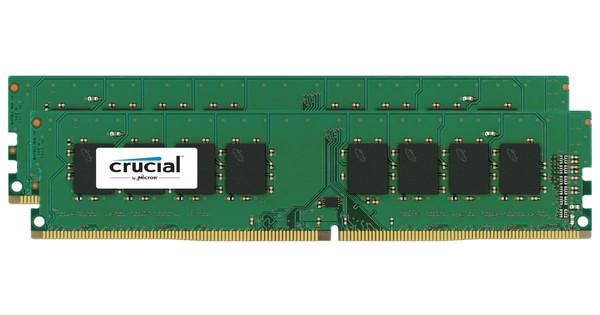 Crucial Standard 32GB DDR4 DIMM 2133 MHz (2x16GB)