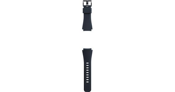 Samsung Gear S3 Silicon Band Blue Black