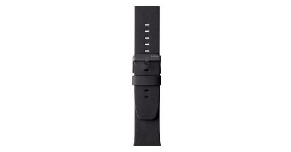 Belkin Apple Watch Leren Polsband 42mm Black
