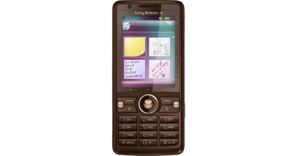 Sony Ericsson G700 Sandy Brown