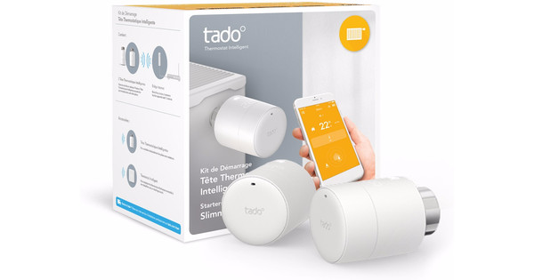 Tado Thermostat pour radiateur intelligent Pack starter