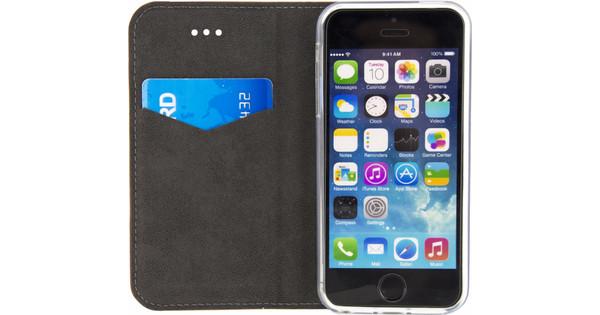 Mobilize Premium Gelly Book Case Apple iPhone 5/5S/SE Bruin