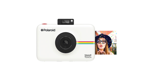 Polaroid Snap Touch Instant Digital Camera Blanc