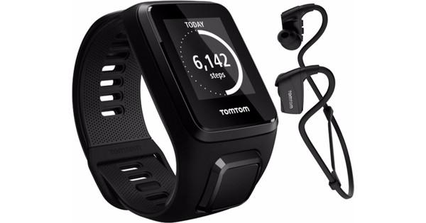 TomTom Spark 3 Cardio + Music + Headphones Black - S