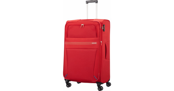 American Tourister Summer Voyager Expandable Spinner 79cm Ribbon Red