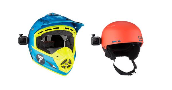 GoPro Fixation rotative bas profil pour casque (pour caméras HERO Session)