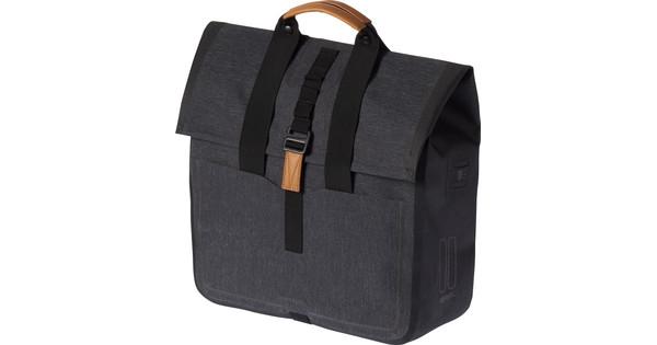 Basil Urban Dry Shopper 20L Charcoal Zwart