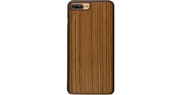 iMoshion Elia Wooden Cover Apple iPhone 7 Plus/8 Plus Lichtbruin