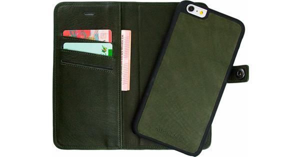 iMoshion Nubra Apple iPhone 6 Plus/6s Plus 2 in 1 Wallet Case Groen
