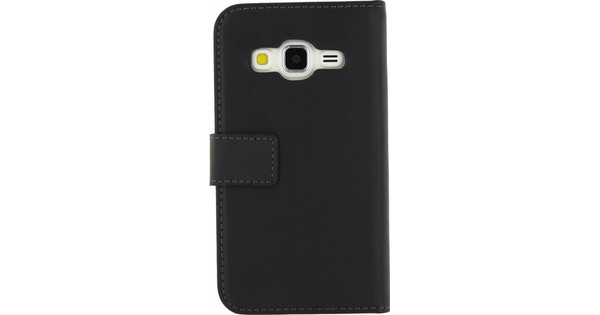 Mobilize Gelly Wallet Book Case Samsung Galaxy Core Prime Zwart
