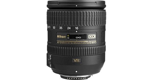 Nikon AF-S 16-85 mm f/3.5-5.6G ED VR DX