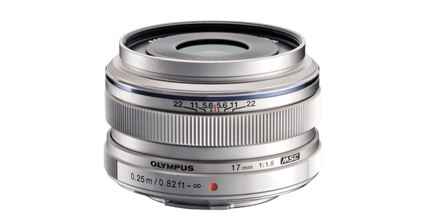 Olympus M.Zuiko Digital ED 17 mm f/1.8 Argent