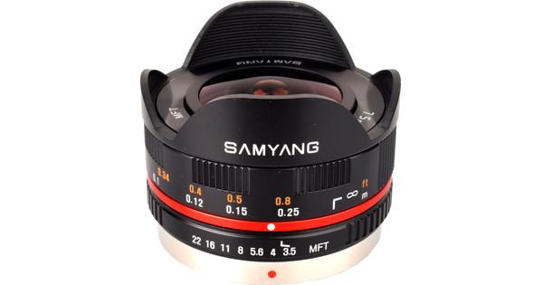 Samyang MFT 7.5mm f/3.5 Noir