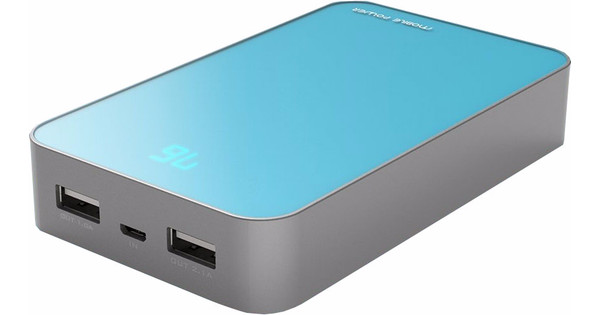 PowerOak S16 Powerbank 13000 mAh Blauw