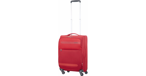 American Tourister Herolite Super Light Expandable Spinner 55cm Formula Red