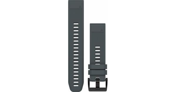Garmin QuickFit 22mm Rubber Horlogeband Grijs