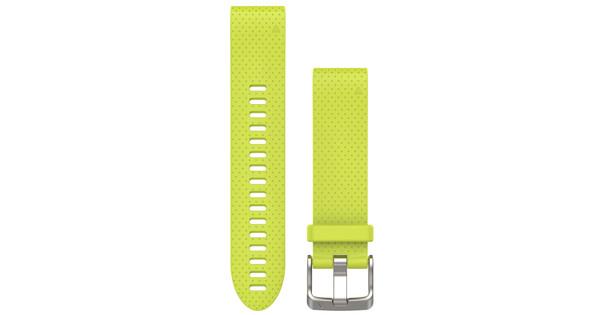 Garmin QuickFit 20mm Siliconen Horlogeband Geel