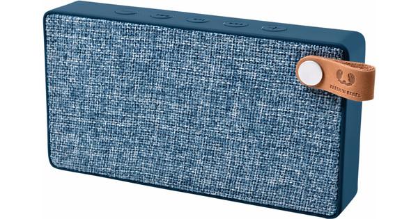Fresh n Rebel Enceinte portable Rockbox Slice Fabriq Edition Bleu