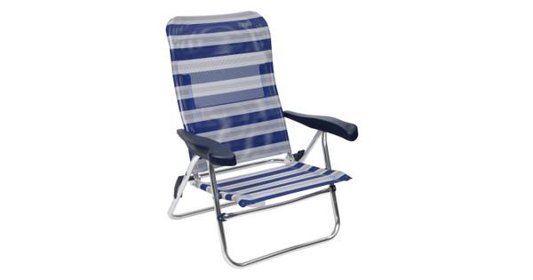 Crespo Strandstoel Al 205.Crespo Strandstoel Al 205 Blauw