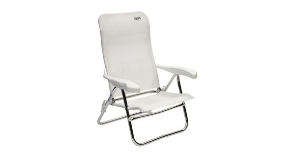 Crespo Strandstoel Aanbieding.Crespo Strandstoel Al 205 Wit