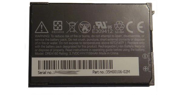 Veripart Battery T-Mobile G1 1100 mAh + Thuislader