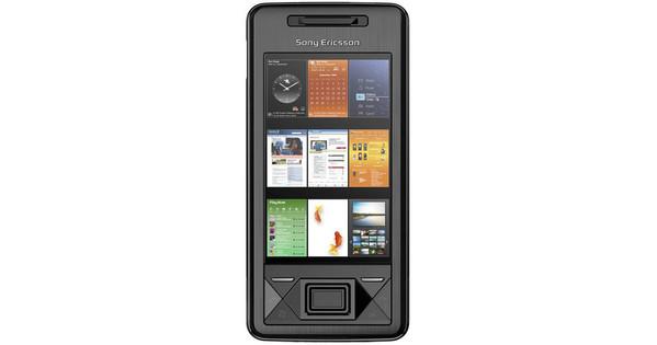 Sony Ericsson Xperia X1 Solid Black AZERTY