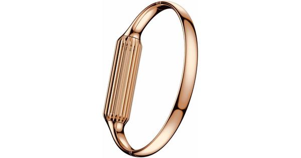 Just in Case Luxury Metalen Polsband Fitbit Flex 2 Rose Gold