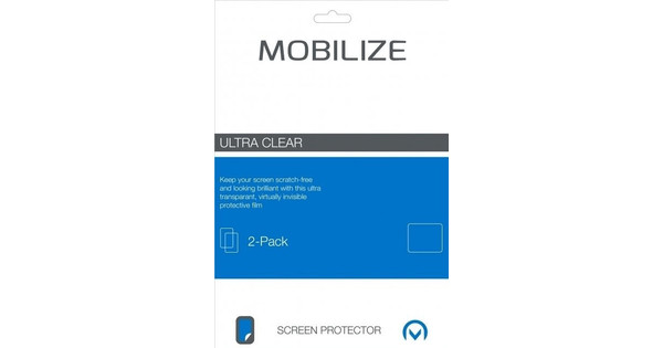 Mobilize Wileyfox Swift 2 Plus Protège-écran en Plastique Lot de 2